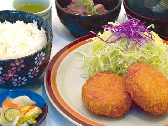 カニコロ定食